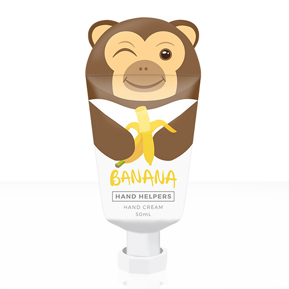 Hand Helpers Hand Cream Banana Monkey