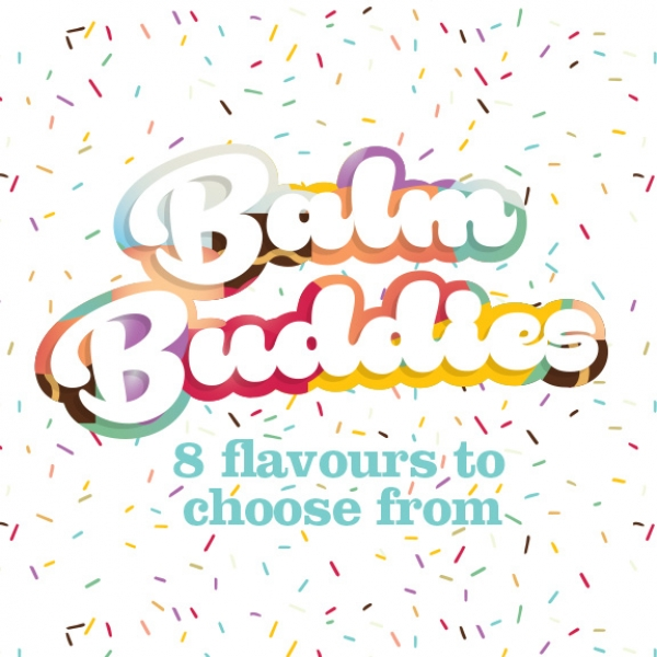 Balm Buddies - 8 flavours to choose from