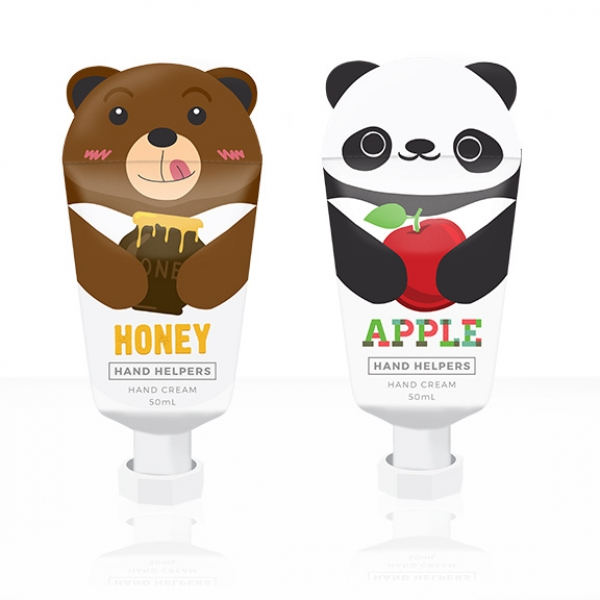 Hand Helpers Hand Cream Honey and Apple Characters