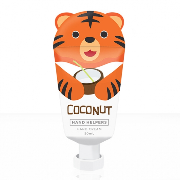 Hand Helpers Hand Cream Coconut Tiger