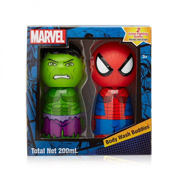 Marvel - Body Wash Buddies